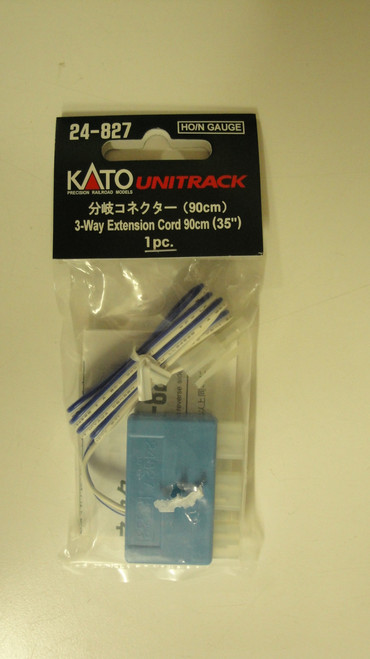 24827 Kato USA Inc / Extension cord 3-way  (SCALE=ALL)  Part # 381-24827