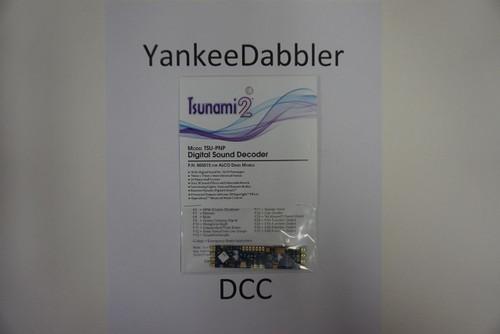 885015 Soundtraxx / Tsunami 2 Diesel ALCO Set, 6-Function, Plug and Play TSU-PNP (2 Amp) Digital Sound Decoders   (Scale=HO) Part # = 678-885015