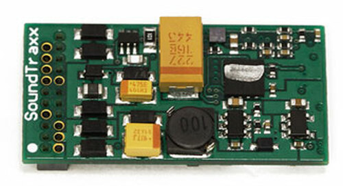 882006 Soundtraxx / ECO-200 Diesel, 6-Function, 21-Pin  (2 Amp) 16-Bit Digital Sound Decoders  (Scale=HO) Part # = 678-882006