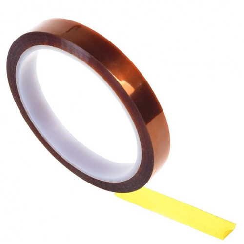 """6KAP1-2 ½"""" roll of high-quality Kapton tape which is perfect  for securing and isolating decoders in both HO and N scale   YankeeDabbler Part # 66-KAP1-2"""