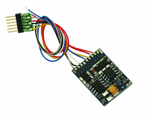 LokPilot V4.0 DCC decoder, with 6-pin plug according to NEM 651