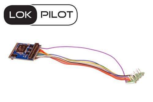 ESU 59620 LokPilot V5.0 DCC decoder, with 8-pin plug according to NEM 652 Replaces 54611 Part # = ESU-59620