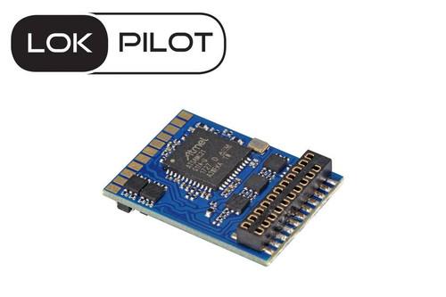 ESU 59619 LokPilot V5.0 DCC decoder, Multiprotocall MM/DCC/SX. 21 MTC interface replaces 54614 part # = ESU-59619