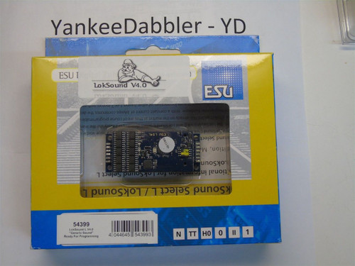 ESU 54399 LOKSound V4,0 DCC Sound decodder Part # 397-54399