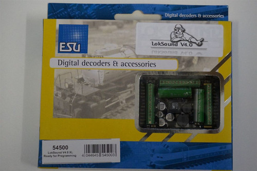 54500 ESU LokSound  XL V4.0 Sound & Control Decoder for DCC  Part # 397-54500