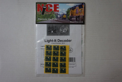 163 NCE - Light-It Lt/Sgnl Dcdr 15/ Part # 524-163