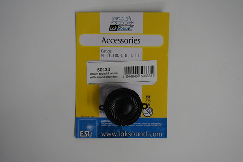 50333 (ALL-SCALES) ESU-50333 Speaker (4) Ohms, Part # = 397-50333