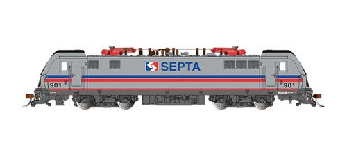 Bachmann 67405 /   SEPTA ELECTRIC LOCOMOTIVE   ACS-64  #901 TCS WOW CD Quality, Keep-Alive, TCS Audio Assist, Lighting including Ditch Lights (SCALE=HO) Part # 160-67405 Pantograph extension & retraction