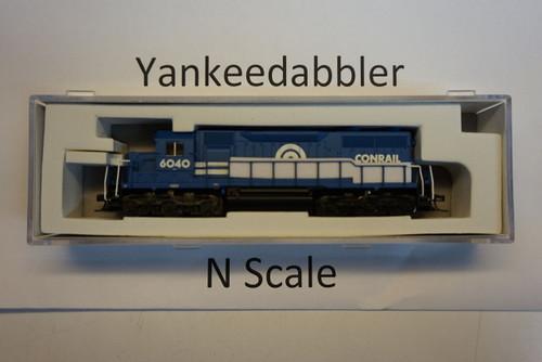 ATLAS 40003732 / EMD SD35 Low Nose - LokSound & DCC - Master(R) Gold -- Conrail # 6040 (blue, white) Atlas Model Railroad Co.  - (SCALE=N) Part # 150-4000373
