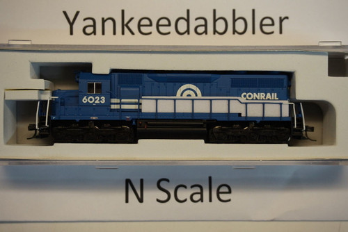 ATLAS 40003731 / EMD SD35 Low Nose - LokSound & DCC - Master(R) Gold -- ConRail # 6023 (blue, white)  Atlas Model Railroad Co.  - (SCALE=N) Part # 150-4000373
