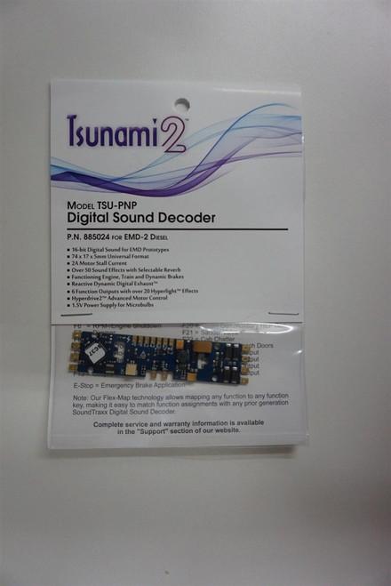 885024 Soundtraxx /  Tsunami 2 PNP EMD-2 Plug & Play for EMD Diesel Scale =HO part# = 678-885024