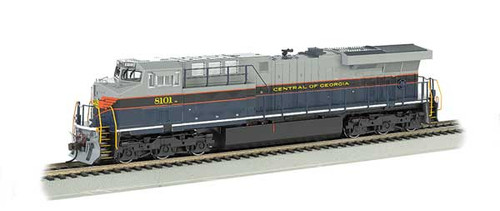 Bachmann -GE ES-44AC Soundtraxx Value Sound & DCC - CG Central of Georgia Heritage Edition  HO Scale Part #  =     160-65401