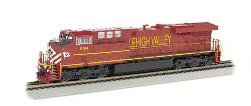 Bachmann 65403 / GE ES-44AC Soundtraxx Value Sound & DCC -Lorgia Heritage Lehigh Valley edition  HO Scale Part #  =     160-65403