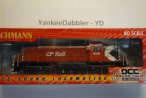 Bachmann 63902  / ALCO RS-3- # 8438 DCC with Soundtraxx Value Sound Part #  =     160-63902