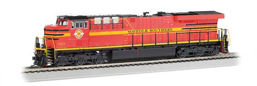 Bachmann 65410 / GE ES-44AC DCC & Soundtraxx Value SOUND w/working ditch lights Norfolk Southern #8114 (Norfolk Southern Heritage, red, yellow, black)  HO Scale Part #  =  160-65410