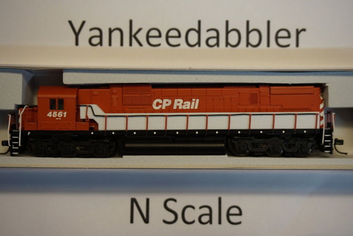 ATLAS 40003579 / Canadian Pacific #4561 (Action Red, black, No Multimark)  ALCO CP-630 - LokSound & DCC - Master(R) Gold --   Atlas Model Railroad Co.  - (SCALE=N) Part # 150-40003579