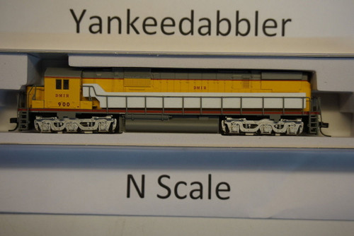 ATLAS 40003581 / Duluth Missabe & Iron Range #900 (Ex-UP, Armlur Yellow, gray, red)   ALCO C-630 - LokSound & DCC - Master(R) Gold --   Atlas Model Railroad Co.  - (SCALE=N) Part # 150-40003581