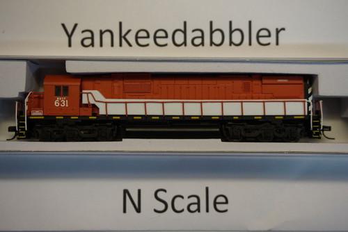 ATLAS 40003586/ Western New York & Pennsylvania #631 (red, black, white)  ALCO C-630 - LokSound & DCC - Master(R) Gold --   Atlas Model Railroad Co.  - (SCALE=N) Part # 150-40003586