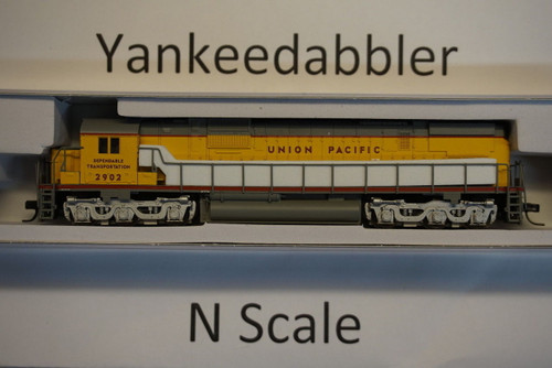 ATLAS 40003587 / Union Pacific #2902 (Armour Yellow, gray, red)   ALCO  UP C-630 - LokSound & DCC - Master(R) Gold --   Atlas Model Railroad Co.  - (SCALE=N) Part # 150-40003587