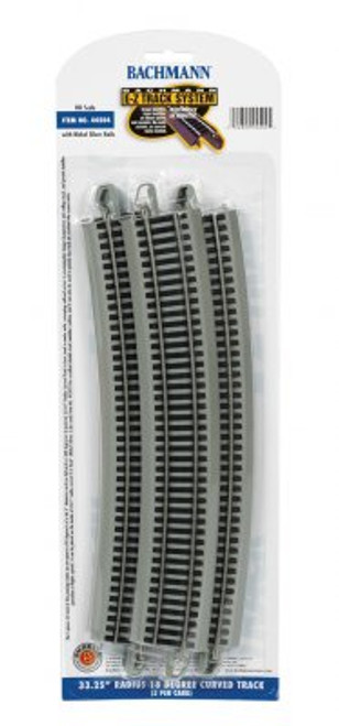 "44504 Bachmann / E-Z Track NS 33.25"" Radius Curved 5 Pieces (Scale=HO) 160-44504"