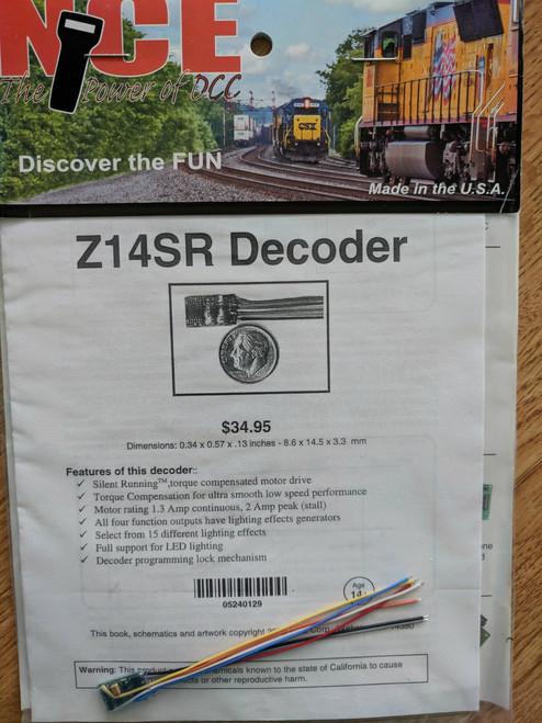 129 NCE /  Z14SR - (SCALE=Z) Part # = NCE129
