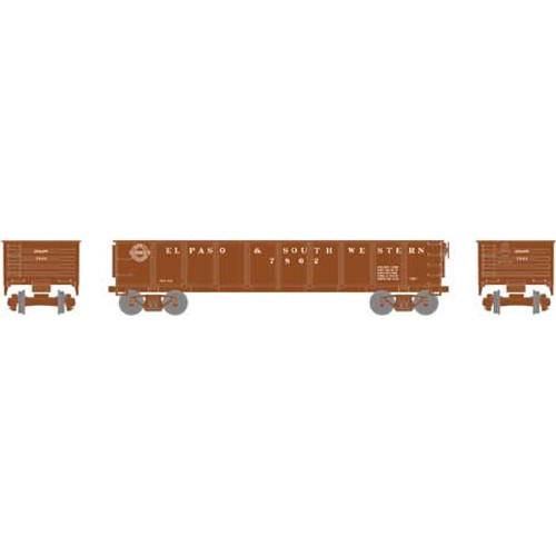 RND87967 Roundhouse 40' Gondola EP&SW El Paso & South Western #7826  (HO Scale) Part #RDN87967