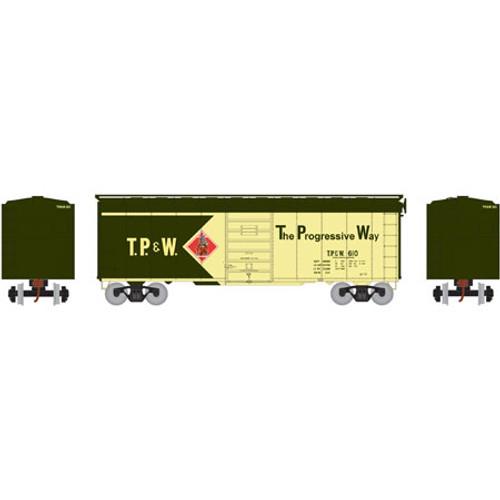 ATH73589 Athearn 40' Superior Door Boxcar TP&W Toledo Peoria & Western #626  (HO Scale) Part #ATH73589