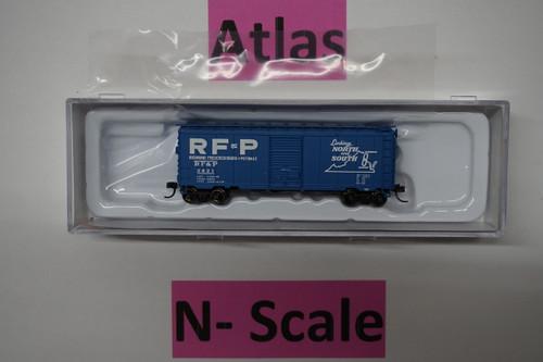 50003354 40' PS-1 Boxcar RF&P Richmond, Fredericksburg, & Potomac #2821 (N Scale) ATL-150-50003354