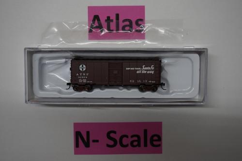 "50003358 40' PS-1 Boxcar ATSF Santa Fe ""El Capitan"" #31504 (N Scale) ATL-150-50003358"
