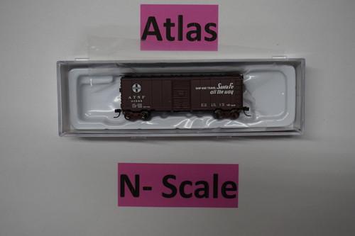 "50003359 40' PS-1 Boxcar ATSF Santa Fe ""El Capitan"" #31595 (N Scale) ATL-150-50003359"