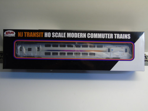 Atlas 20004808 NJ Transit Modern Commuter Cab Car #7058 (HO Scale) 150-20004808