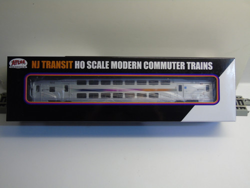 Atlas 20004810 NJ Transit Multi-Level Trailer with Toilet #7212 (HO Scale) 150-20004810