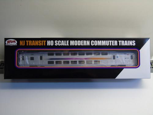 Atlas 20004812 NJ Transit Multi-Level Trailer with Toilet #7266 (HO Scale) 150-20004812
