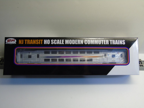 Atlas 20004813 NJ Transit Multi-Level Trailer without Toilet #7514 (HO Scale) 150-20004813