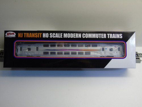 Atlas 20004814 NJ Transit Multi-Level Trailer without Toilet #7529 (HO Scale) 150-20004814