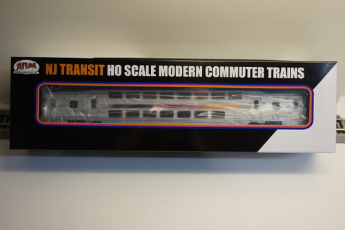 Atlas 20004815 NJ Transit Multi-Level Trailer without Toilet #7533 (HO Scale) 150-20004815