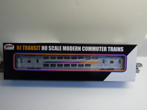 Atlas 20004816 NJ Transit Multi-Level Trailer without Toilet #7542 (HO Scale) 150-20004816