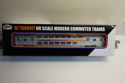 Atlas 20004817 NJ Transit Multi-Level Trailer without Toilet #7569 (HO Scale) 150-20004817