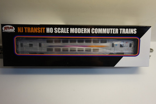 Atlas 20004822 NJ Transit Multi-Level Trailer without Toilet #7619 (HO Scale) 150-20004822