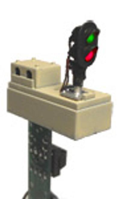DZ-1011-HO Z-Stuff Trains / Dwarf-style Block Signal Detector Pair (Scale = HO) Part # = DZ-1011-HO