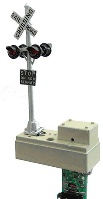 DZ-1020-HO Z-Stuff Trains / Crossing Signal Set (Scale = HO) Part # = DZ-1020-HO