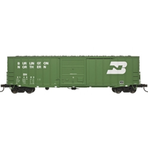 "20004762 Atlas BN Burlington Northern #214318 50' 6"" Boxcar (HO Scale) Part # 150-20004762"
