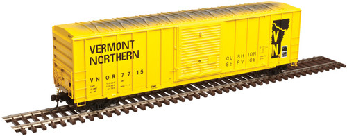 50003446 Atlas FMC 5077 SD Box Car - VN - Vermont Northern #7707 (Scale=N) 150-50003446