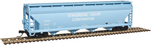 50003530 Atlas ACF 5250 Covered Hopper - SCBX Standridge Color Corp #5347 (Scale=N) 150-50003530