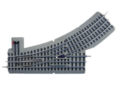 612017 Lionel / FasTrack(TM) Track w/Roadbed-3-Rail-Manual LH Turnout O-36 Switch (Scale=O) #434-612017