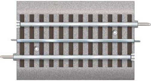 "612024 Lionel/ FasTrack(TM) Track w/Roadbed - 3-Rail -- 1/2 Straight Track - 5"" 12.7cm   (Scale=O) #434-612024"