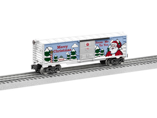 684747 Lionel /  2018 Christmas Boxcar (Scale=O) 434-684747
