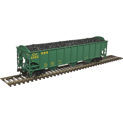 ATLAS 20004894 70 Ton Open Hopper CV Central Vermont #4492 (SCALE=HO) Part # 150-20004894