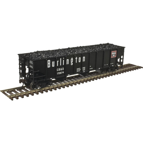 ATLAS 20004899 70 Ton Open Hopper CB&Q Burlington #172674 (SCALE=HO) Part # 150-20004899