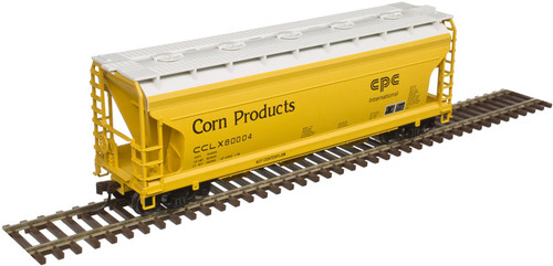 ATLAS 50004017 AFC 3650 Covered Hopper Corn Products #80016 (SCALE=N) Part # 150-50004017